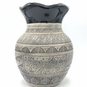 Native American Pottery Handmade Navajo Indian
